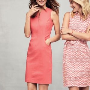 J. McLaughlin Hudson Dress in Coral